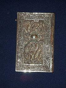 19TH CENTURY CUM WO CANTONESE SILVER FILIGREE CARD CASE