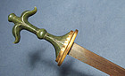Antique Chinese Mughal Islamic Jade Hilted Dagger