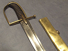 Antique 18th century German  Prussian Hussar Sword