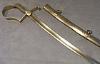 Antique 19th century Austro Hungarian sword model 1837