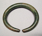 Ancient Celtic Bronze Armlet Torque, 800 to 475 BC