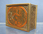 Antique 19th century Box  after Jean Honore Fragonard