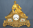 Antique 19th century Ormolu French Mantel Clock