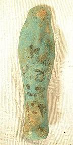 Ancient Ushabti Egypt, circa 1200-200 BC