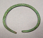 Celtic Bronze Bangle Hallstatt Culture