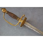 Antique Sword Small Rapier, 18th century