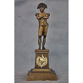 Antique Bronze Napoleon Bonaparte Sculpture