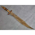 SOLD  Antique 19th century American Bowie Knife