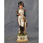 Porcelain Figure of Napoleon Bonaparte with Sword