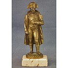 Antique Napoleon Bonaparte Bronze Sculpture Statue