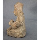 Ancient Jamacoaque Pre Columbian Ceramic Figure