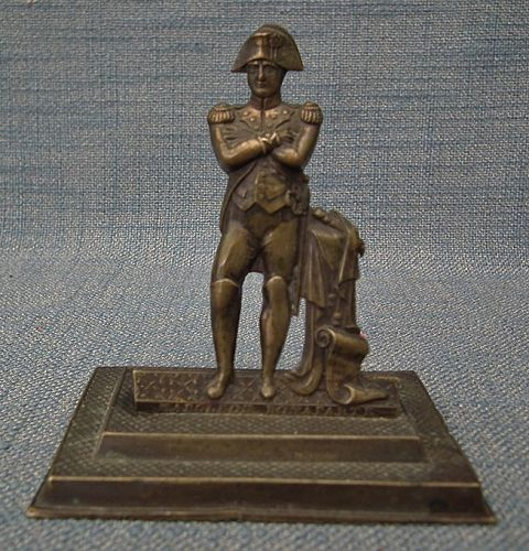 Antique Miniature Bronze sculpture Napoleon Bonaparte