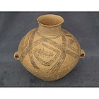 Antique Chinese Yangshao Neolithic Ancient Amphora