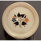 Antique Islamic Indian Mughal Marble Plate 18th century