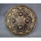 Antique 18th c Islamic Indo-Persian Shield Dhal Separ