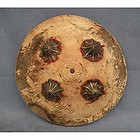 Antique Indo Persian Mughal Shield Dhal 18th century