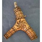 Antique 17th -18th Century Hungarian Gun Powder Flask