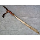 Antique Sword Mandau Parang Ihlang Head Hunters Dayak
