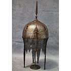 Antique Islamic Helmet Indo Persian Kulah Khud