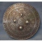Antique 18th century Indo Persian Mughal Shield Dhal