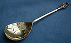 Antique George III English sterling Silver Spoon 18th c