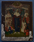 Antique Russian Orthodox icon 18th c