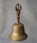 Antique Tibetan Bell circa 1900