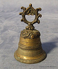 Antique Tibetan Bronze Bell circa 19th century Tibet