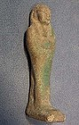 Ancient Egyptian Faience Ushabti Shabti circa 800-300 B