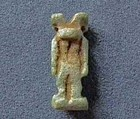 Ancient Egyptian Faience Amulet God Anubis 664-332 BC