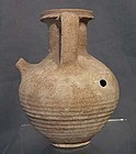 Authentic ancient Roman terracotta wine jug ca.1st-2nd