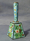 Antique Chinese Enamel Bell