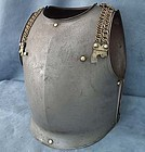Antique 19th c French Cavalry Cuirassier Armor