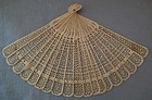 Antique Chinese Fan 19th century Qing Dynasty Brisé