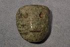 Antique Mezcala Pre-Columbian Stone Pendant