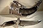 Museum Quality Tibetan Silver dagger