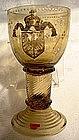 Unique Antique German Imperial Goblet 1870