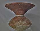 Ancient Thai Ban Chiang Culture Pottery Vessel Thailand 300 BC AD 200