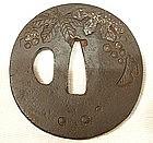 Antique and Authentic Samurai Sword Tsuba