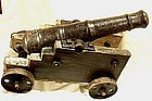 Extremely Rare and authentic 18th c cannon