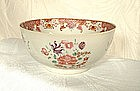 CHINESE EXPORT FAMILLE ROSE BOWL 18TH CENTURY