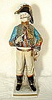 Antique Napoleonic Figure General Antoine-Louis-Charles
