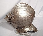 16TH CENTURY MAXIMILIAN CLOSE HELMET ARMOR.
