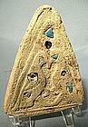 Antique Timurid Tile, Persia, 15th Century