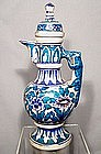Antique Islamic Ceramic Ewer Mughal India 17th-18th cen