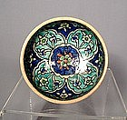 Ottoman Kutahya Pottery Bowl, Turkey19th Century