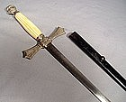 ANTIQUE AMERICAN CIVIL WAR MILITIA OFFICER�S SWORD