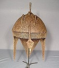 ANTIQUE INDO PERSIAN HELMET KULAH KHUD, 18th century