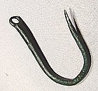 Ancient Greek Fishermen Bronze Fish Hook, 800-300 BC