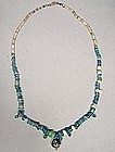 Ancient Roman Glass Beads Necklace, 2nd-3rd century AD